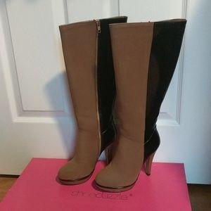 Boots, heels